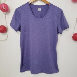 32 Degrees Purple weatherproof cool top L